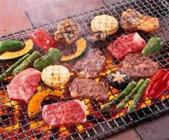 夕食(BBQコース)