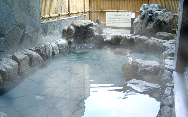 ふれあい館の露天風呂