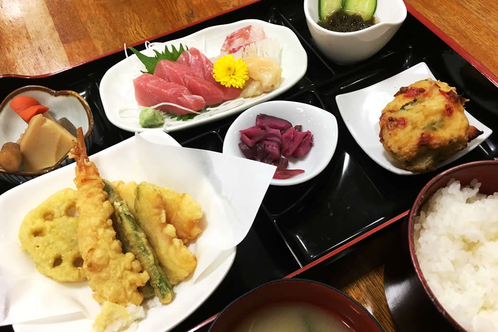 三ッ峠グリーンセンターの料理